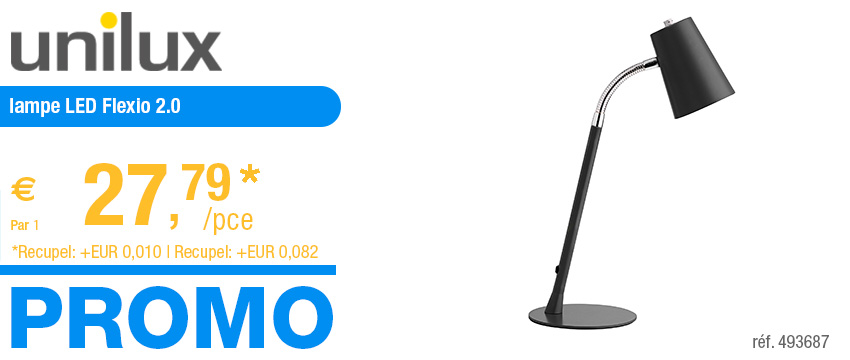 Unilux lampe LED Flexio 2.0