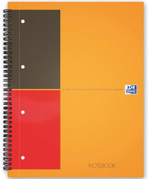 Oxford INTERNATIONAL Notebook Connect, sans pages à scanner, 160 pages, ft A5+, ligné