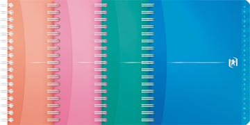 Oxford OFFICE MyColour addressbook, 160 pages, ft 12 x 14,8 cm