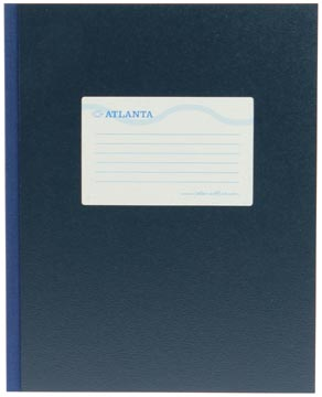 Atlanta by Jalema registre quarto large 160 pages, bleu