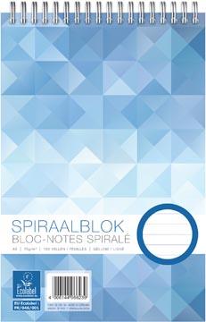 Oxford bloc-notes Work, spirale, ft A5, 70 gr, ligné