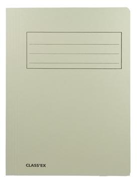 Class'ex chemise de classement, gris, ft 23,7 x 32 cm (pour ft A4)