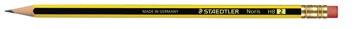 Staedtler crayon Noris HB, avec gomme
