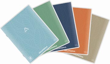 Aurora Writing 60 cahier de brouillon 96 pages, quadrillé 5 mm