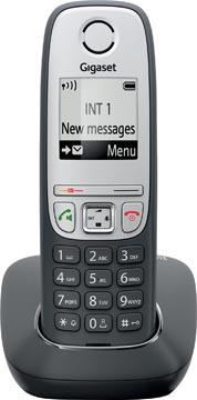 Gigaset A415 téléphone DECT sans fil, noir