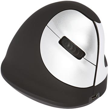 R-Go HE souris ergonomique, moyen, sans fil, pour droitiers
