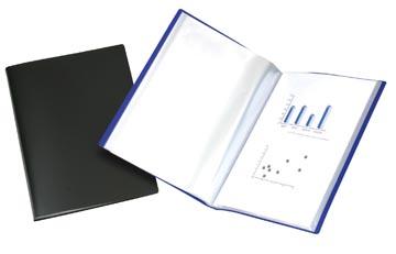 Beautone protège documents, A4, 10 pochettes, bleu