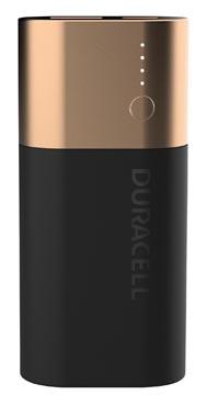 Duracell Powerbank, 6700 mAh, en noir - cuivre, 1 pièce