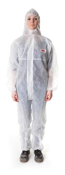 3M coverall de protection, blanc, large