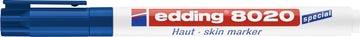 Edding marqueur spécial dermatologie e-8020 bleu