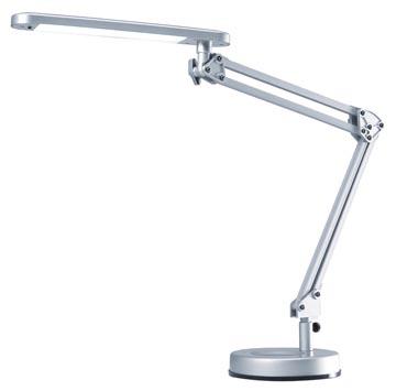 Hansa lampe de bureau 4 Stars, lampe LED, argent