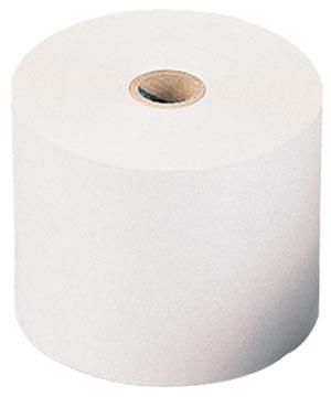Bobine thermique, ft 57 mm, diamètre +-28 mm, mandrin 8 mm, longueur 11m, pack de 5 rouleaux, sans BPA