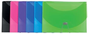 Exacompta Iderama trieur, en PP, avec 13 compartiments, couleurs assorties