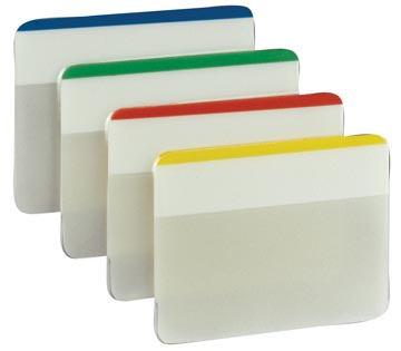 Post-it Index Strong, ft 50,8 x 38 mm, set de 24 cavaliers, 4 couleurs, 6 cavaliers par couleur