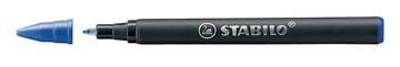 STABILO EASYoriginal recharge roller, medium, 0,5mm, boîte de 3 pièces, bleu