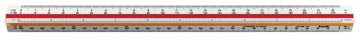 rotring echelle de réduction à 3 faces cadastre: 1:25, 1:50, 1:100, 1:125, 1:250, 1:500, 1:1000, 1:1250,