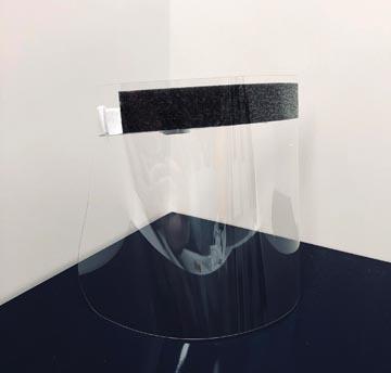 Exacompta visière de protection individuelle, lisse, ft 31,5 x 19,5 cm