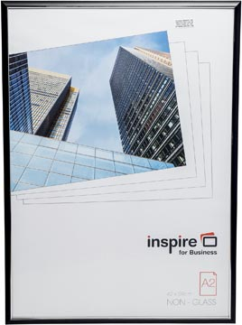 Inspire for Business cadre photo Easyloader, noir, ft A2