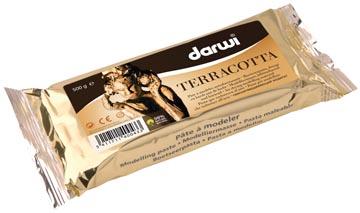 Darwi pâte à modeler Terracotta, paquet de 500 g