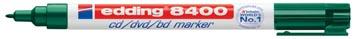 Edding marqueur permanent pour CD/DVD/BD e-8400 vert