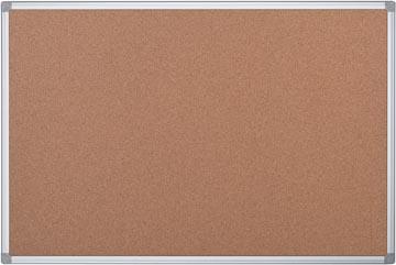 Pergamy tableau en liège avec cadre en aluminium ft 60 x 45 cm
