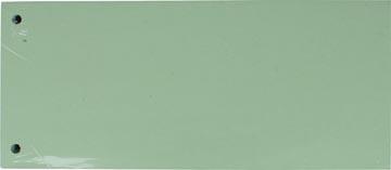 Pergamy intercalaires, paquet de 100 pièces, vert