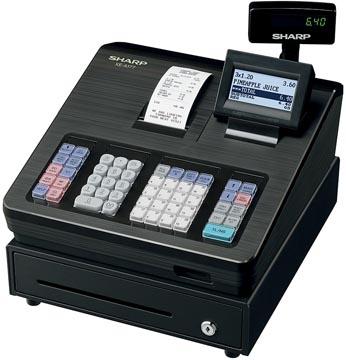 Sharp caisse enregistreuse thermique XE-A177BK, noir