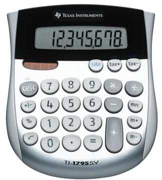 Texas calculatrice de bureau TI-1795 SV