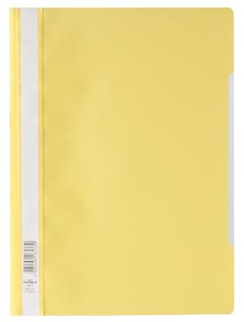 Durable farde à devis, ft A4, jaune