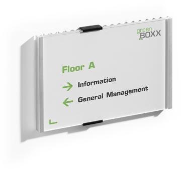 Durable plaque d'affichage Info Sign ft 21 x 14,8 cm (A5)