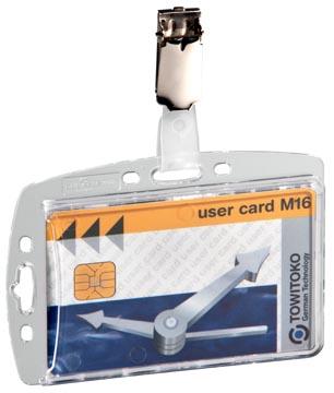 Durable badge avec clip