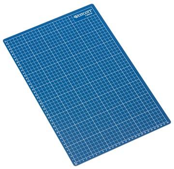 Westcott tapis de coupe bleu ft A3