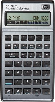 HP calculatrice financière 17BII+