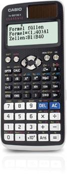 Casio calculatrice scientifique FX-991DEX, version allemande