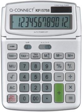 Q-Connect calculatrice de bureau KF15758