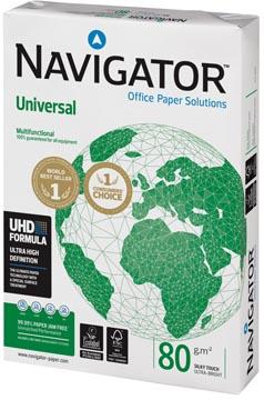 Navigator Universal papier d'impression, ft A4, 80 g, paquet de 500 feuilles