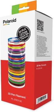 Polaroid 3D Universal Premium PLA filament, boîte de 22 rouleaux de 15 g (5 m)