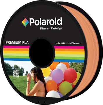 Polaroid 3D Universal Premium PLA filament, 1 kg, orange