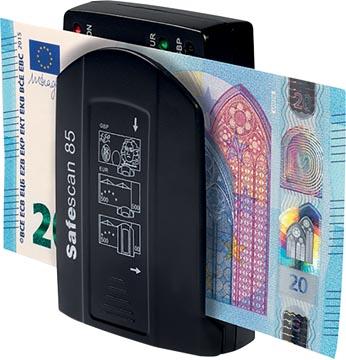 Safescan détecteur de faux billets 85, avec détection triple des contrefaçons