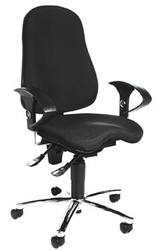Topstar chaise de bureau Sitness 10, noir