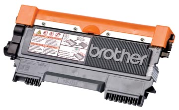 Brother toner, 2.600 pages, OEM TN-2220, noir