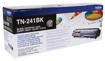 Brother toner, 2.500 pages, OEM TN-241BK, noir