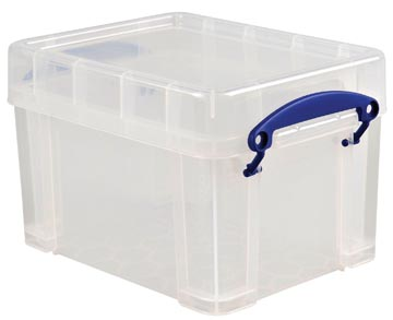 Really Useful Box boîte de rangement 3 l, transparent