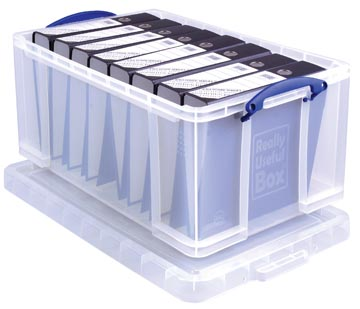 Really Useful Box boîte de rangement 64 l, transparent