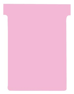 Nobo fiches T indice 3, ft 120 x 92 mm, rose