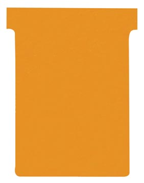 Nobo fiches T indice 3, ft 120 x 92 mm, orange