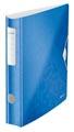 Leitz WOW classeur à levier Active, dos de 6,5 cm, bleu