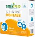 Greenspeed All-In-One vaatwastabletten 3 in 1 werking, 100 stuks, 1.8 kg