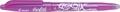 Pilot Frixion Ball roller à encre gel mauve