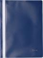 Pergamy farde à devis, ft A4, PP, paquet de 25 pièces, bleu foncé
